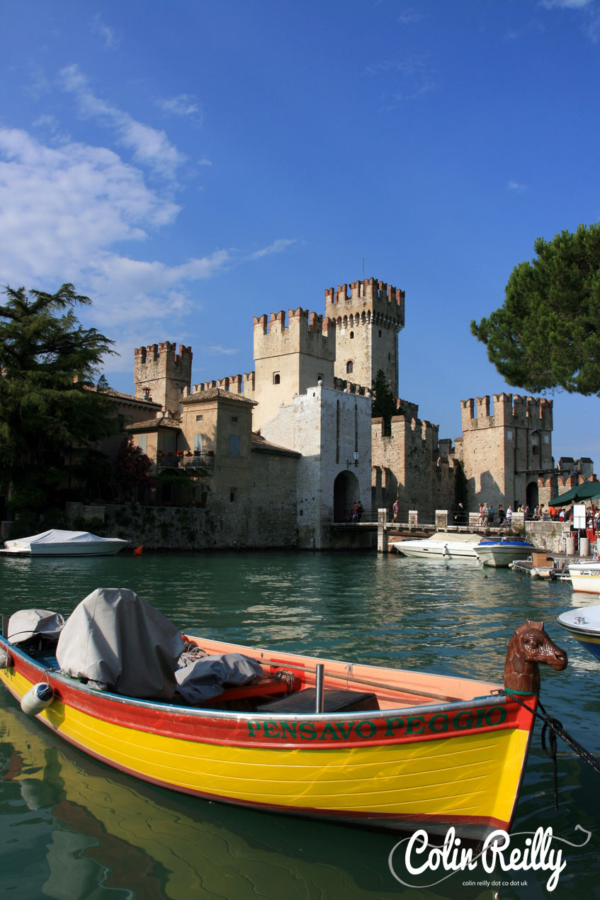 The Scaligero Castle, gateway to Sirmione